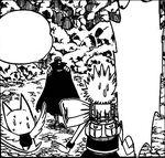 Natsu y Happy se encuentran con Gildarts