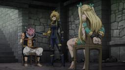 Dimaria captura a Lucy y Natsu