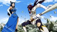 Kagura confronts the Tiger