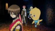 Fairy Tail stops Eclair