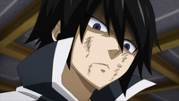 Zeref's reaction to Larcade