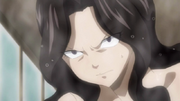 Cana's reaction to Flare