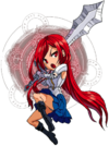 Erza Scarlet is Chibi