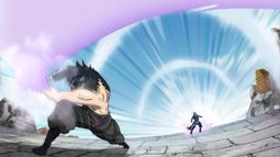 Gray ataca a Invel con su poder