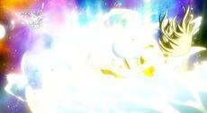 Angel es golpeada por Urano Metria