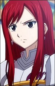 Erza in Episode 10