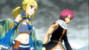 Lucy joins Natsu