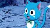 Happy worried about Natsu