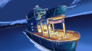 Bora's Yacht