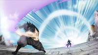 Gray attacks Invel with Ice Devil Slayer Magic
