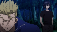Gray finds out about Laxus' injury