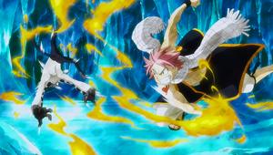 Natsu beats a Vulcan