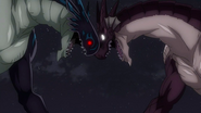 Acnologia and Igneel clash midair