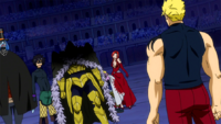 Laxus vs Raven Tail