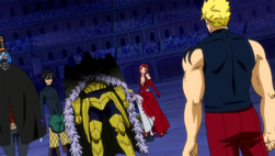 Laxus vs Raven Tail