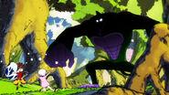 The gorian finds Natsu and Lisanna