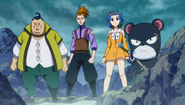 Droy and the others find Gajeel