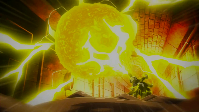 File:Laxus destroys the lightning core.png