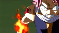Natsu's fury