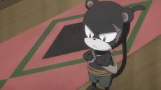 Pantherlily preparandose para la guerra