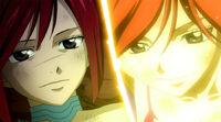 Erza's farewell (Anime)