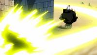 Jellal używający Meteoru