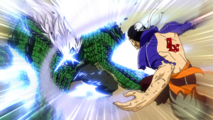 Bacchus attacks Elfman