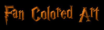 Fan Colored Art Halloween