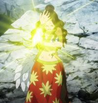 Cana casts Fairy Glitter