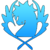 Blue pegasus-icon
