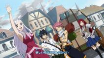 Fairy tail mirajane mira erza gray