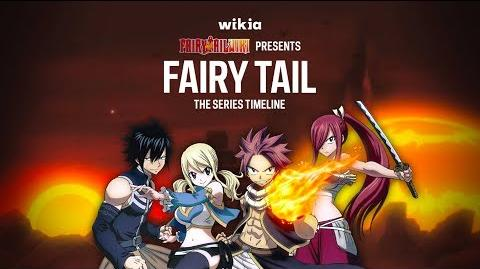 Fairy Tail - Series Timeline