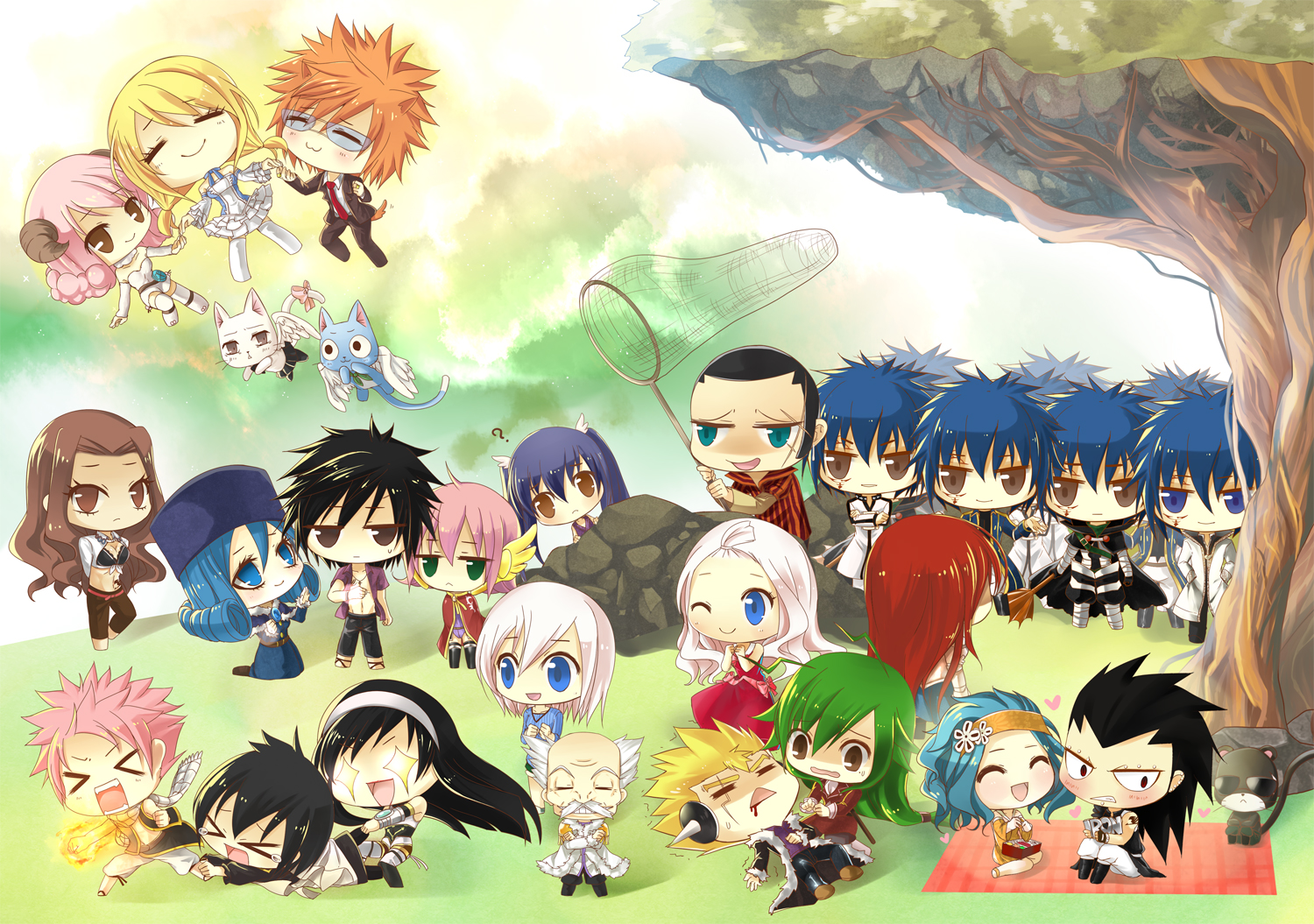 image fairy tail chibi fairy tail 28620567 1500 1055 png