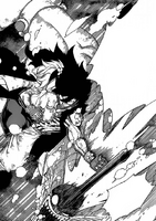 Gajeel-Protects-Levy-from-Torafusa