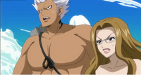 Elfman and Evergreen against Mirajane