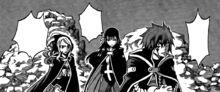 Jellal Noticing The Mysterious Magic