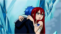 Erza and Jellal hugging 2