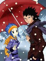Gejeel and Levy on a snowy day