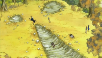 Erza, Levy, and Juvia Find an Injured Gajeel