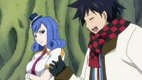 Gray Asking Juvia About Her Mission