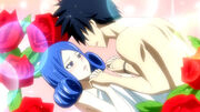 Juvia's passionate battle