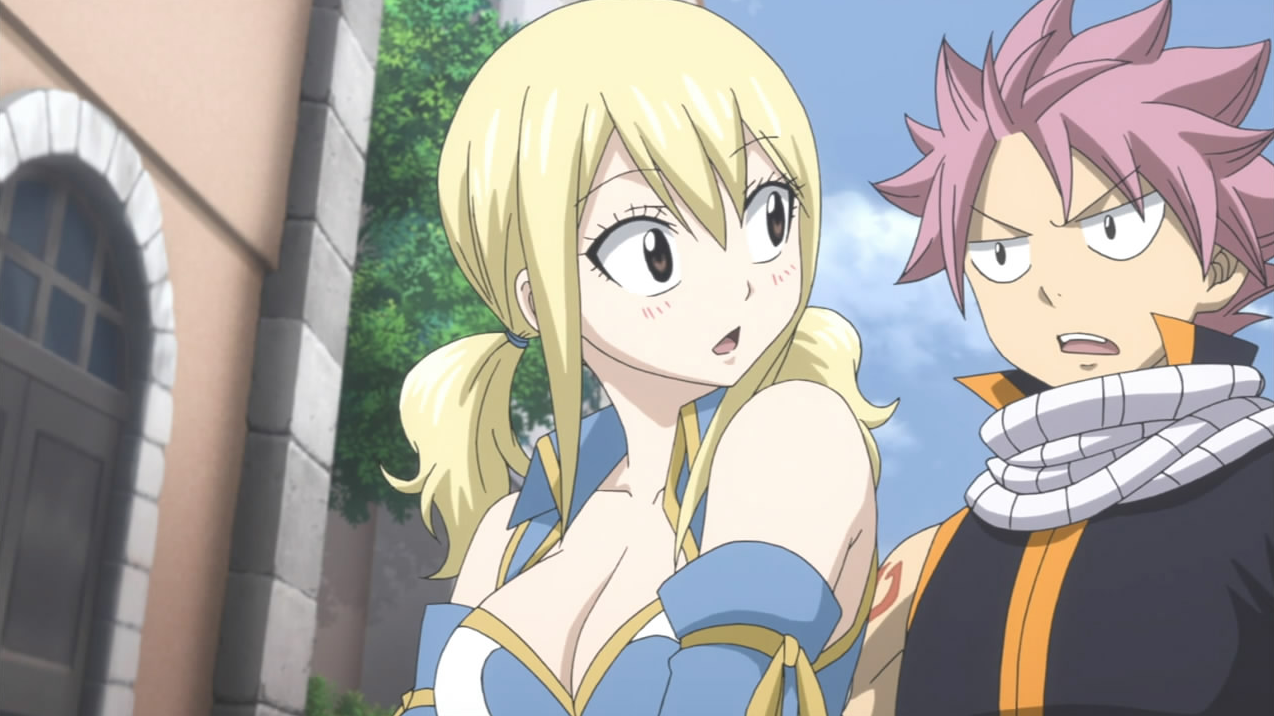 Image natsu has no problem with kissing lucy fairy