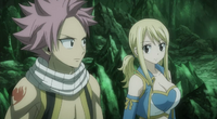 Lucy Asking Natsu About the Tournament
