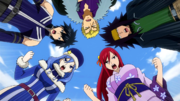 Team Fairy Tail All Fired Up