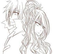 Mystogan and Jerza