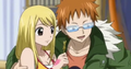 Loke gives tickets to Lucy and co