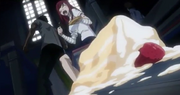 Gray made Erza drop the cake