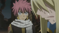 Natsu Sees Lucy Crying