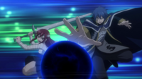 Jellal and Erza Attack Together
