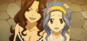 Levy Relieved After Gajeel's Fight